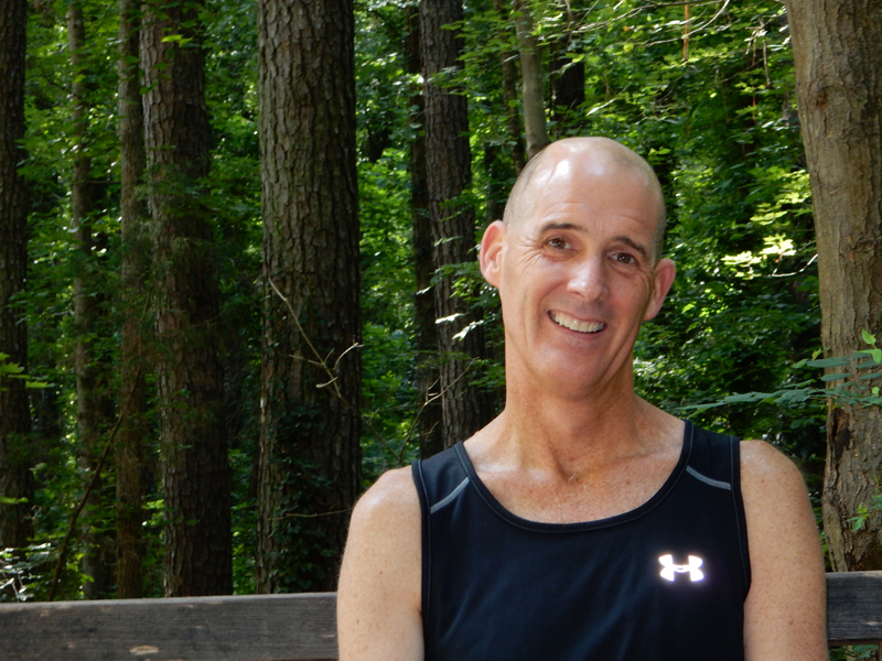 Tom O'Donnell, 53, started running when he was diagnosed with a brain tumor eight years ago. He hasn't stopped since, and today, the marathon is personal.